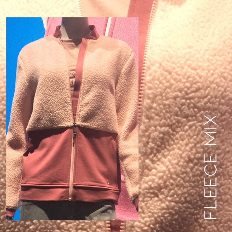 ISPO sports trends a/w 20/21, Fleece mix